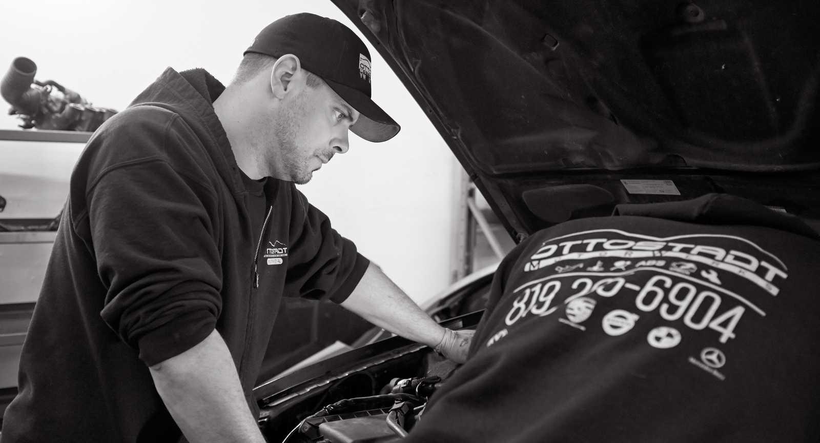 OttoStadt MotorWerks is the preferred shop for Audi, BMW, Mini, Mercedes, Porsche and Volkswagen